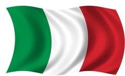 italien flagga