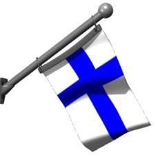 Flagga Finland