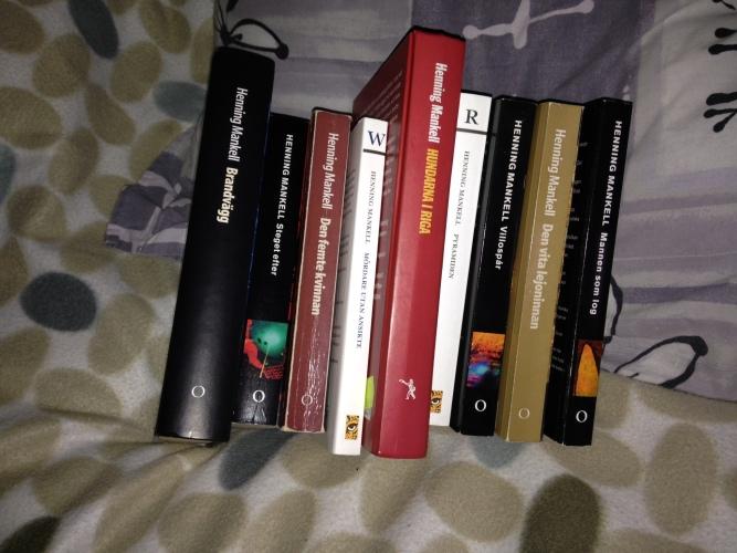 9 böcker Mankell