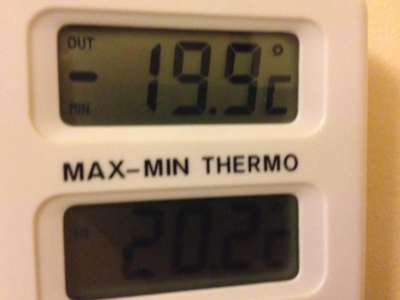 20 grader kallt