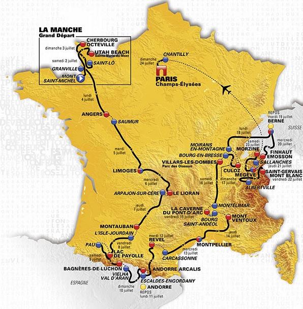 Tour de France 20 juni